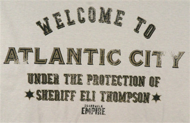 Image for Boardwalk Empire Welcome to Atlantic City T-Shirt