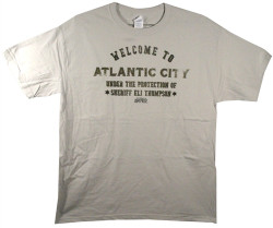 Image Closeup for Boardwalk Empire Welcome to Atlantic City T-Shirt