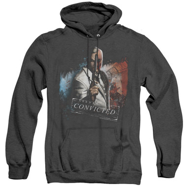Image for Arkham City Heather Hoodie - Two Face