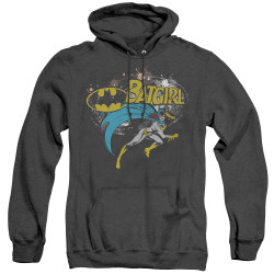 Image for Batman Heather Hoodie - Batgirl Halftone