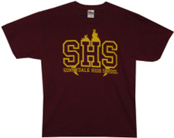 Image Closeup for Buffy the Vampire Slayer Sunnydale High School T-Shirt