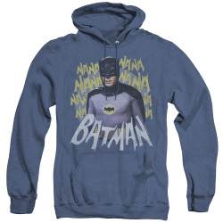 Image for Batman Classic TV Heather Hoodie - Theme Song