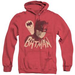 Image for Batman Classic TV Heather Hoodie - Bat Signal