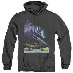 Image for Edward Scissorhands Heather Hoodie - Poster