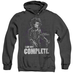 Image for Edward Scissorhands Heather Hoodie - Not Complete
