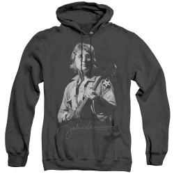 Image for John Lennon Heather Hoodie - Iconic