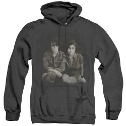 Image for John Lennon Heather Hoodie - Beret