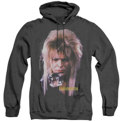 Image for Labyrinth Heather Hoodie - Goblin King