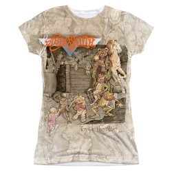 Image for Aerosmith Sublimated Girls T-Shirt - Toys in the Attic