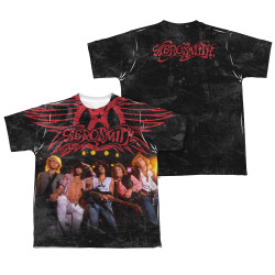 Image Closeup for Aerosmith Sublimated Youth T-Shirt Stage