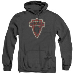 Image for Pontiac Heather Hoodie - Early Pontiac Arrowhead