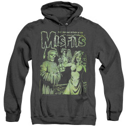 Image for The Misfits Heather Hoodie - The Shocking Return
