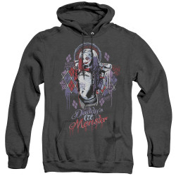Image for Suicide Squad Heather Hoodie - Bad Girl