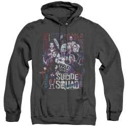 Image for Suicide Squad Heather Hoodie - The Squad