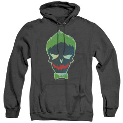Image for Suicide Squad Heather Hoodie - Joker Skull