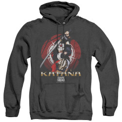 Image for Suicide Squad Heather Hoodie - Katana Flower