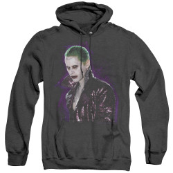 Image for Suicide Squad Heather Hoodie - Joker's Stare