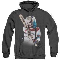 Image for Suicide Squad Heather Hoodie - Bat At You