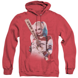 Image for Suicide Squad Heather Hoodie - Take Aim Harley