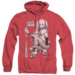 Image for Suicide Squad Heather Hoodie - Kneel