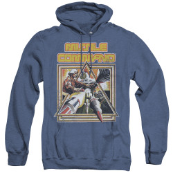 Image for Atari Heather Hoodie - Missile Command