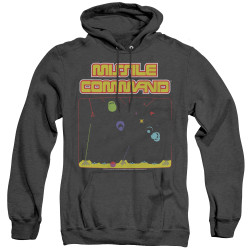 Image for Atari Heather Hoodie - Missile Command Screen