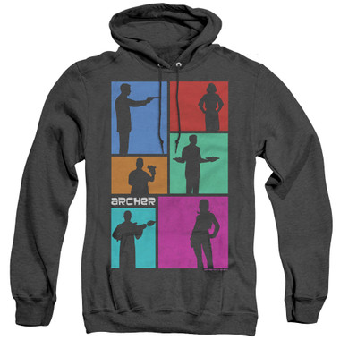Image for Archer Heather Hoodie - Silhouettes