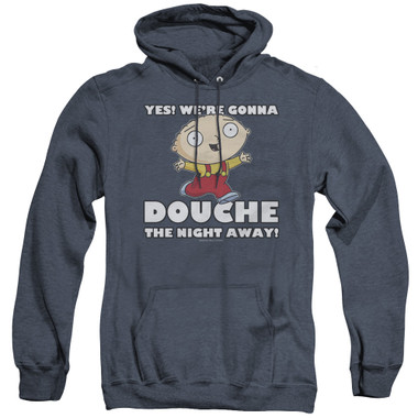 Image for Family Guy Heather Hoodie - Douche the Night Away