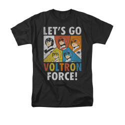 Image for Voltron T-Shirt - Let's Go