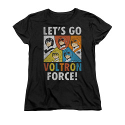 Image for Voltron Woman's T-Shirt - Let's Go