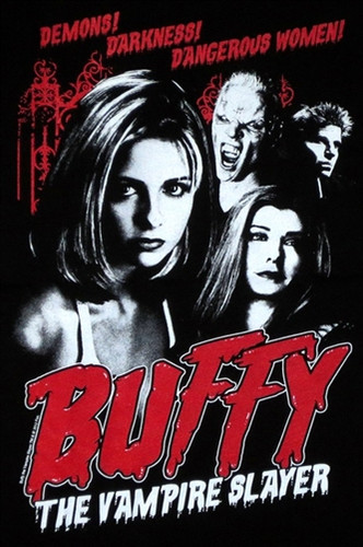 Image for Buffy the Vampire Slayer Cult Poster Girls Shirt