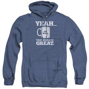 Image for Office Space Heather Hoodie - Yeah...That Would Be Great
