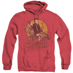 Image for Firefly Heather Hoodie - I Aim to Misbehave