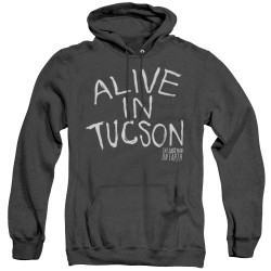 Image for Last Man on Earth Heather Hoodie - Alive in Tucson