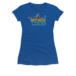 Image for Voltron Girls T-Shirt - Logo