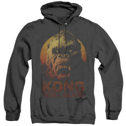 Image for Kong Skull Island Heather Hoodie - Face