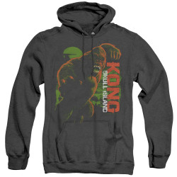 Image for Kong Skull Island Heather Hoodie - Attack Mode
