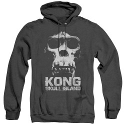 Image for Kong Skull Island Heather Hoodie - Kong Skull