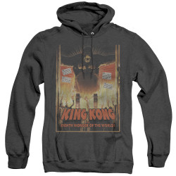 Image for King Kong Heather Hoodie - Eighth Wonder of the World