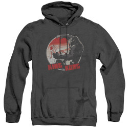 Image for King Kong Heather Hoodie - It Was Beauty Killed the Beast