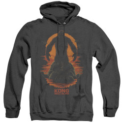 Image for Kong Skull Island Heather Hoodie - Silhouette