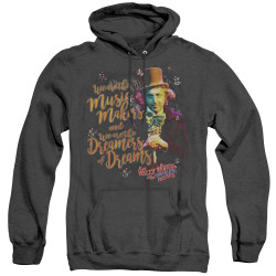 Image for Willy Wonka and the Chocolate Factory Heather Hoodie - Music Makers