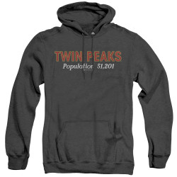 Image for Twin Peaks Heather Hoodie - Population 51,201