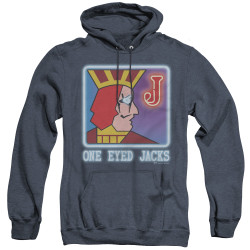 Image for Twin Peaks Heather Hoodie - One Eyed Jacks