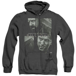 Image for Billions Heather Hoodie - Currency Poster