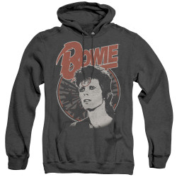 Image for David Bowie Heather Hoodie - Space Oddity