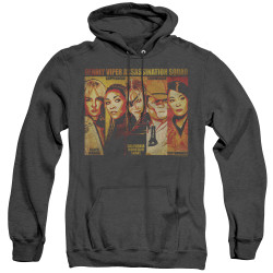 Image for Kill Bill Heather Hoodie - Deadly Viper Assassination Squad