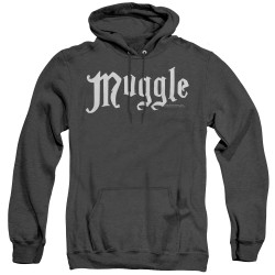 Image for Harry Potter Heather Hoodie - Muggles