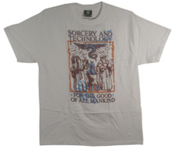 Sorcery and Technology T-Shirt Image 2