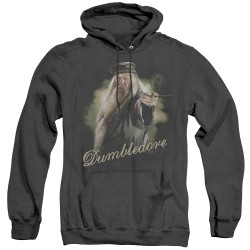 Image for Harry Potter Heather Hoodie - Dumbledore Wand
